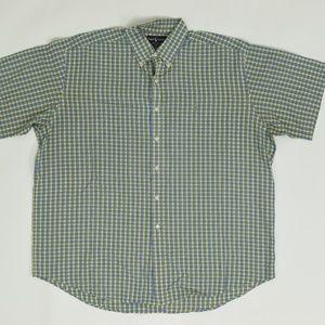 Ralph Lauren  Regular XL Green   Button Down Cotto
